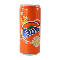 Fanta orange flavoured