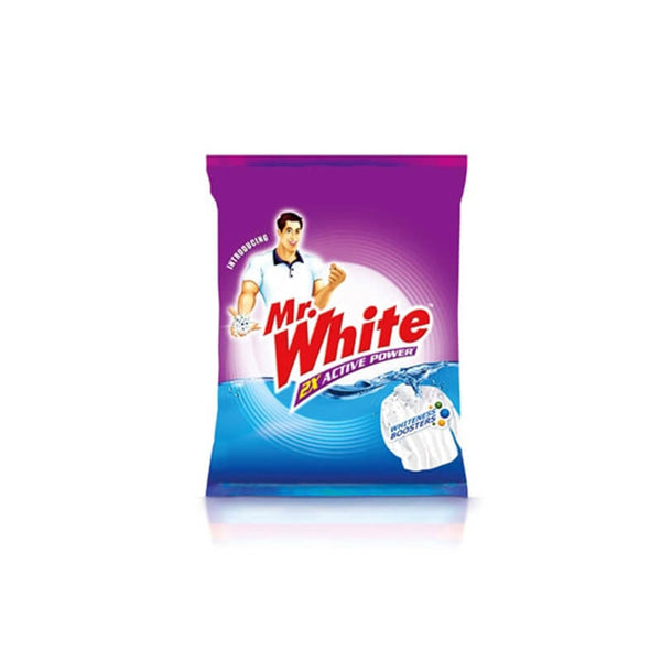 Mr. White  2x Active Power Detergent Washing Powder 5 Kg