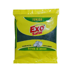 Exo Anti-Bacterial Safai With Bactogard Scrub Pad