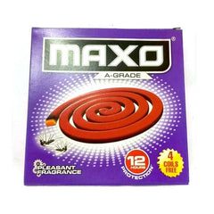 Maxo A-Grade Pleasant Fragrance Coil 12 Hours Protection
