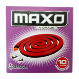 Maxo A-Grade Pleasant Fragrance Coil 10 Hours Protection