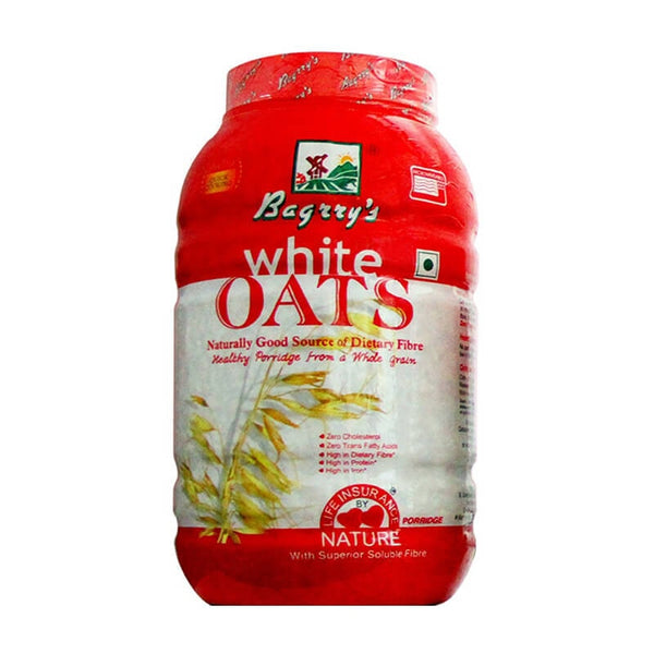 Bagrry white oats whole grain - BazaarCart Best Online Grocery Store