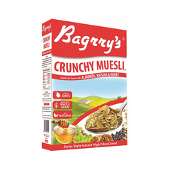 Bagrry Crunchy Muesli with Almonds,raisins & Honey