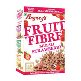 Bagrry fruit n fibre  muesli with strawberry almond & raisin