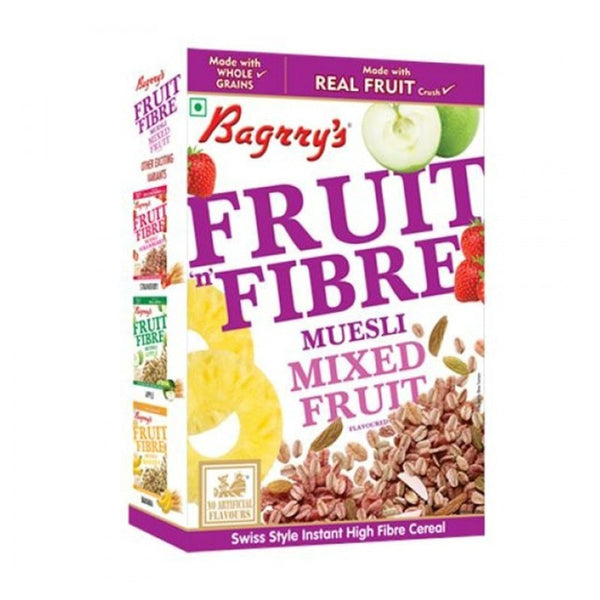 Bagrry fruit n fibre  muesli mixed fruit with almond & raisin