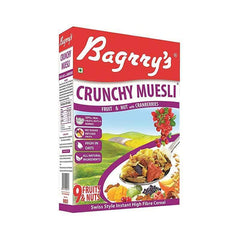 Bagrry Crunchy Muesli Fruit & Nut with Cranberries