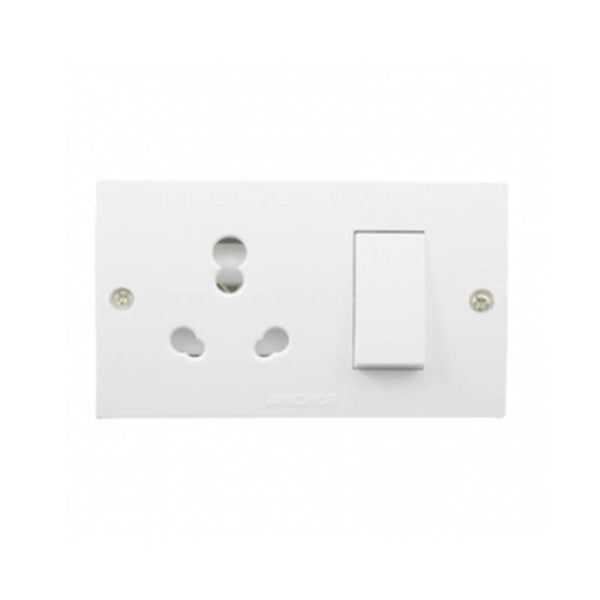 ANCHOR PENTA  SOCKET OUTLET WITH 20A-240V SWITCH