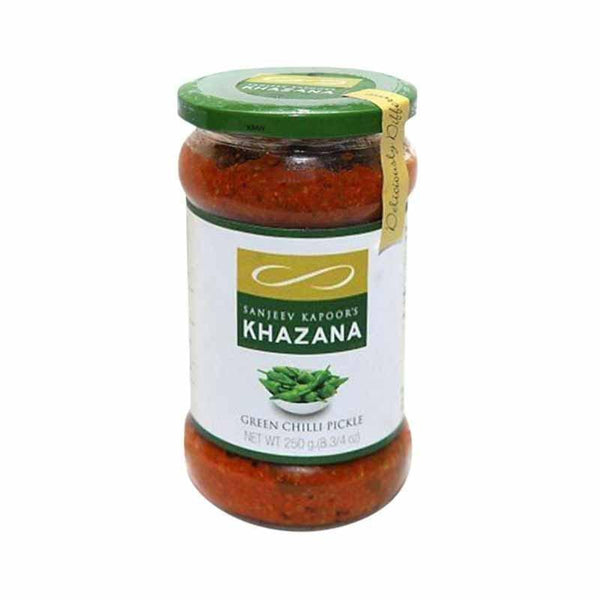 Sanjeev Kapoor Khazana Pickle Green Chilli