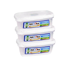 Nayasa Plastoware Container Straight 275 ML 3 Pcs