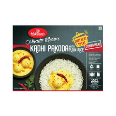Haldirams Minute Khana Kadhi Pakoda With Jeera Rice Combo -Meal