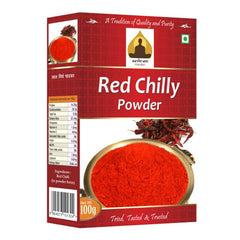 Sri Sri Aashram red chilly powder 100 Gm