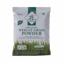 24 Lm Organic Wheat Grass Powder