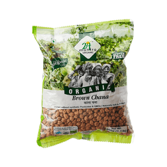 24 Lm Organic Brown Chana