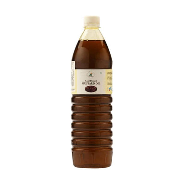 24 Lm Cold Pressed Mustard Oil