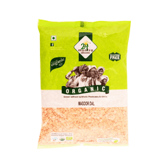 24 Lm Organic Masoor Dal Whole