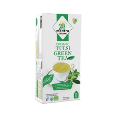 24 Mantra Organic Tulsi Green Tea Bags