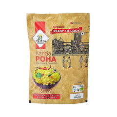 24 Mantra Organic Ready to Cook Kanda Poha Rice Flake & Onion Mix