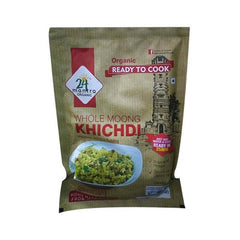 24 Mantra Organic Ready To Cook Whole Moong Khichdi Mungbean And Rice Pudding