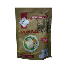 24 Mantra Organic Ready to Cook Pongal South indian Rice and Lentil Pudding