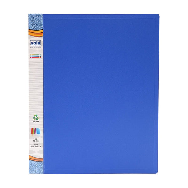 Solo A4 Rb 402 2-D Ring Binder File 1 pcs