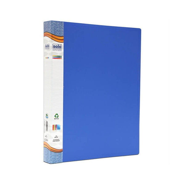 Solo A4 Rb 407 Students Ring Binder File