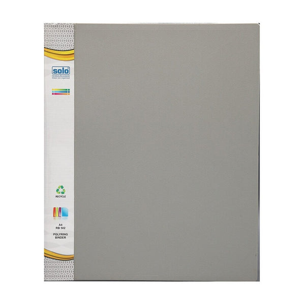 Solo A4 Rb 502 Poly Ring Binder File