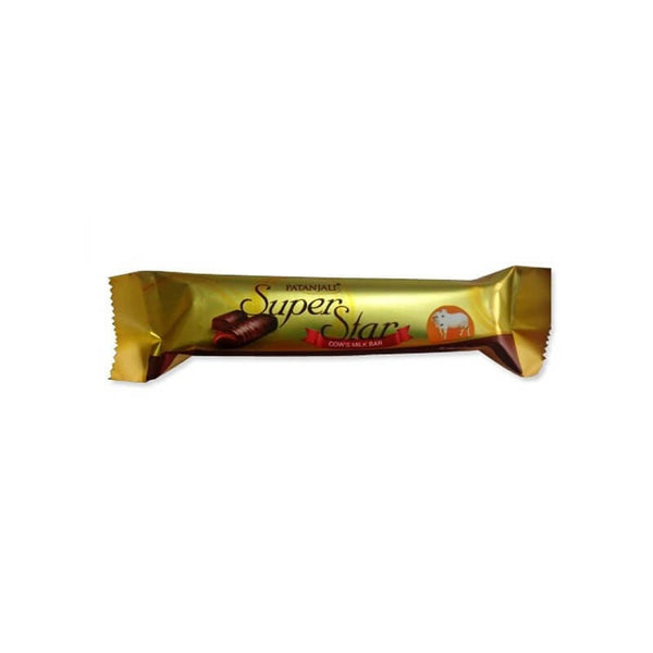 Ramdev Patanjali Cows Milk Chocolate With Almond Enriched With Natural Flavours