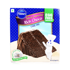 Pillsbury Moist Supreme Rich Choco Cake Mix Egg Free