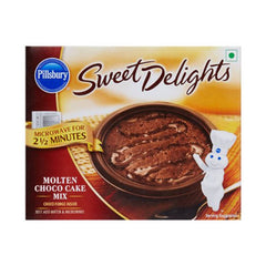 Pillsbury sweet delights molten choco cake mix
