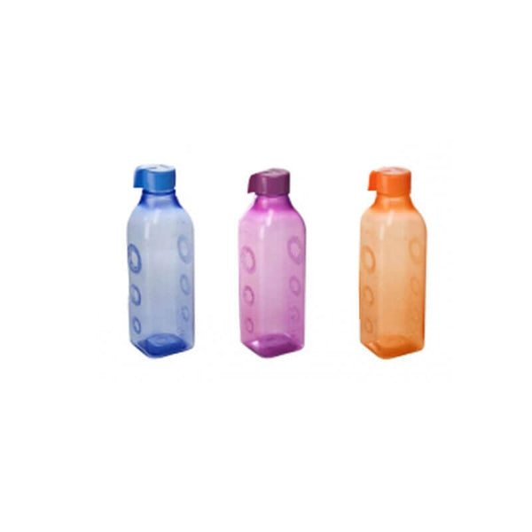 Nayasa Polyplast Square F/Bottle 750 ML 3 Pcs