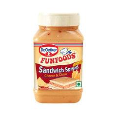 Funfoods Cheese And Chilli Sandwich Spread