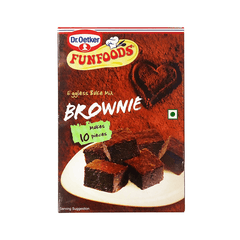 Funfoods Eggless Bake Mix Brownie Flavour