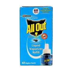 All Out Liquid Vaporizer Refill 60 Night Refill - BazaarCart Best Online Grocery Store