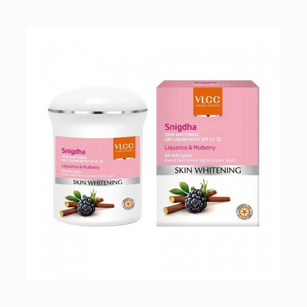 VLCC Snigdha Skin Whitening Day Cream With Spf 25 Liquorice & Mulberry 50 Gm