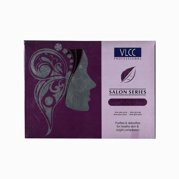 VLCC Professional Salon Series Silver Detoxifying Facial Kit