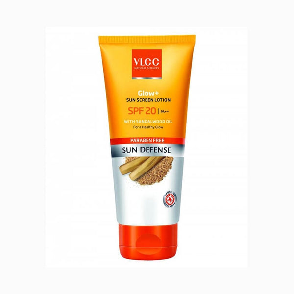 VLCC Sun Defense Glow + Sun Block Lotion With Sandalwood Extract Spf 20