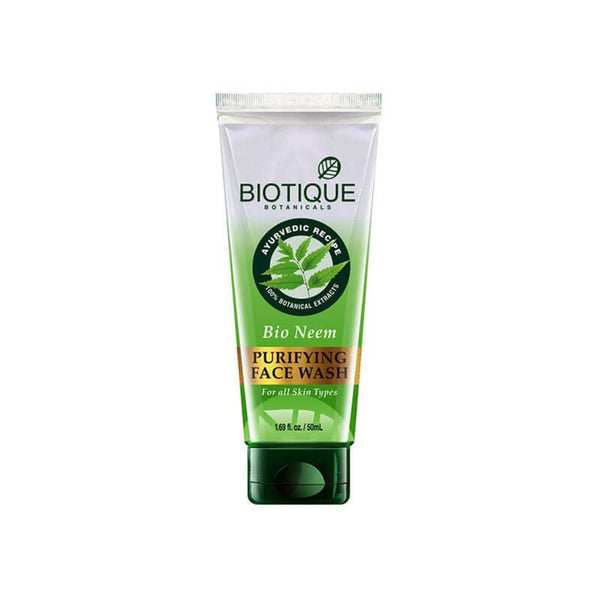 Biotique Botanicals Bio Neem Ayurvedic Purifying Neem Face Wash