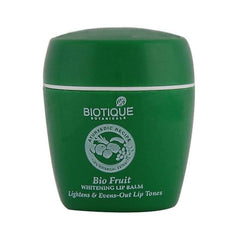Biotique Bio Fruit Whitening Lip Balm Lightens & Evens-Out Lip Tones
