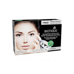 Biotique Diamond Facial Kit With Diamond Bhasma