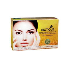 Biotique Bio Gold Radiance Facial Kit - For Glowing Skin