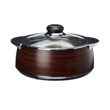 Nayasa Multiplast Glimmer insulated Casserole 1500 ML