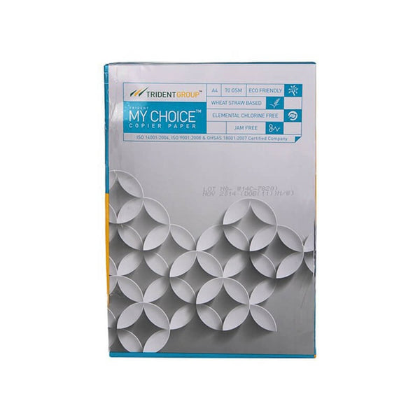 Trident My Choice Copier Paper - A4, 70 GSM 1 Pc
