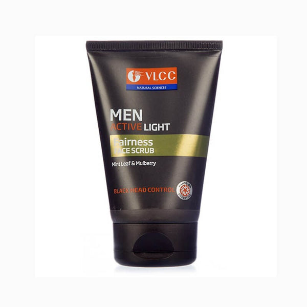 VLCC Men Active Light Fairness Face Scrub