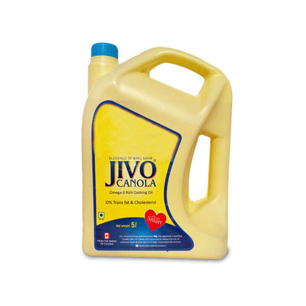 Jivo Canola Omega-3 Rich Cooking Oil Free Jivo Canola 2 Ltr Oil
