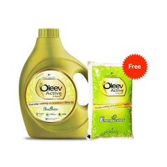 Oleev Active Olive Oil With Free Oleev Active Worth 165/-