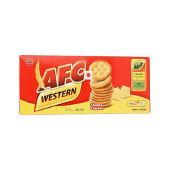 AFC Western Cracker Cheese Biscuit - BazaarCart Best Online Grocery Store