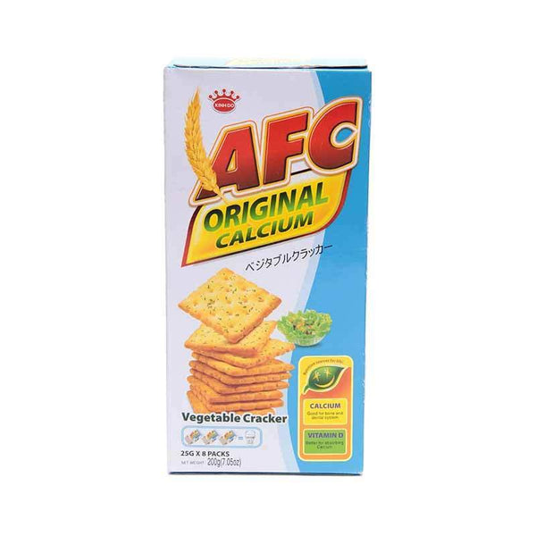 AFC Original Calcium Vegetable Cracker