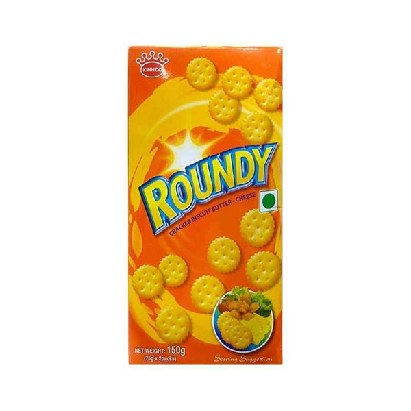 Kinhdo Roundy Butter Cheese Coated Crackers