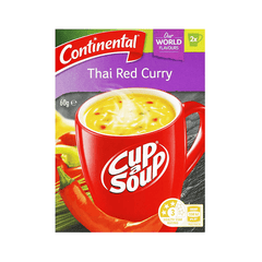 Continental Asian Thai Red Curry Cup A Soup