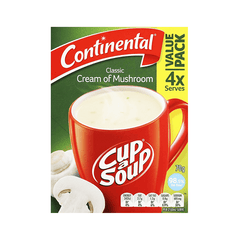 Continental Classic Cream Of Mushroom Cup A Soup